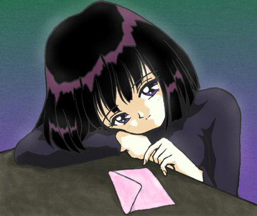 Sailor Saturn wallpaper entitled Hotaru
