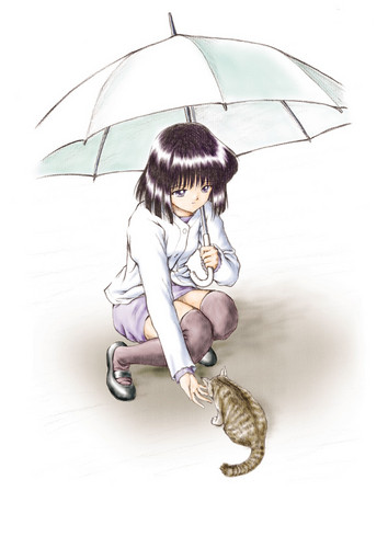 Sailor Saturn वॉलपेपर containing a parasol titled Hotaru