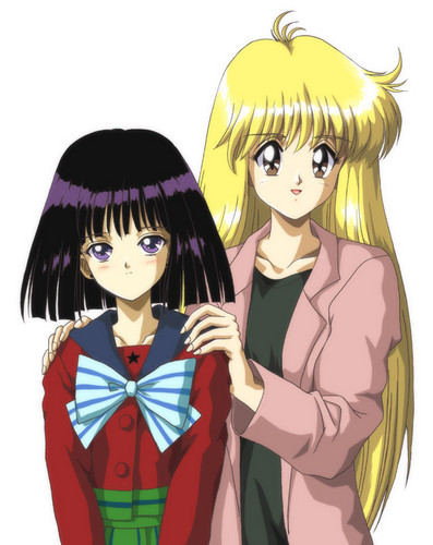 Sailor Saturn Hintergrund with Anime called Hotaru!