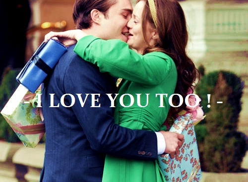 Gossip Girl Images I Love You Too Wallpaper And Background Photos
