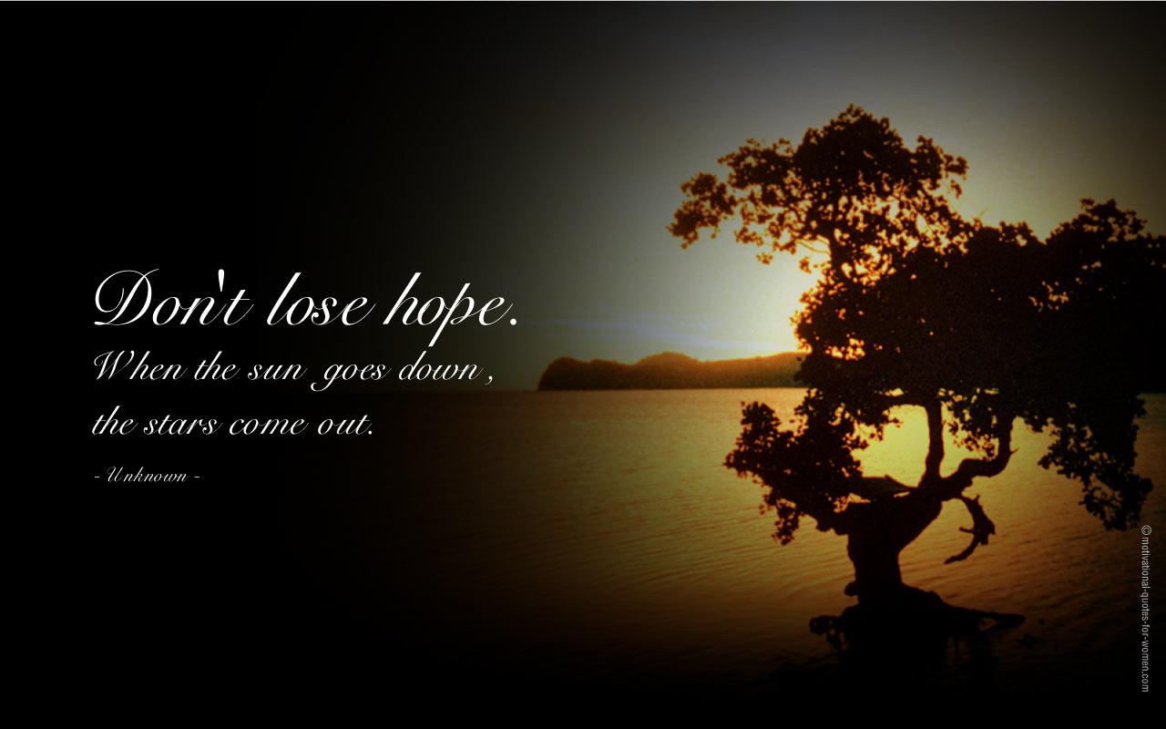 Hope Feeling Images Inspirational Quotes Hd Wallpaper And