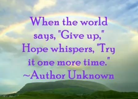 Hope feeling images inspirational quotes wallpaper and Inspirational quotes about hope