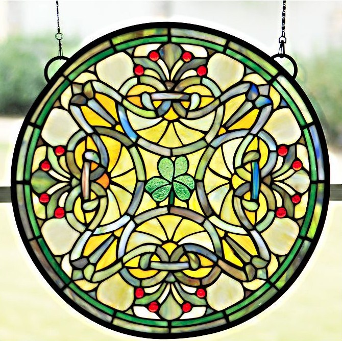 Stained Glass images Irish Pride wallpaper and background ...