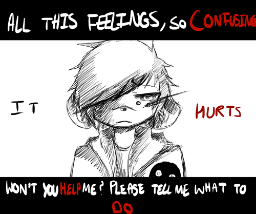 It hurts -Kureij-