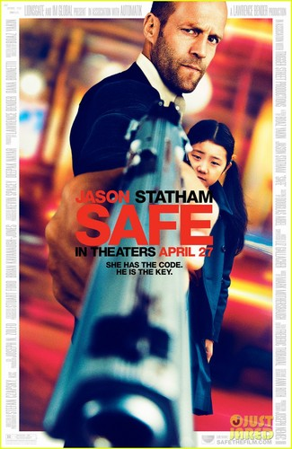 Jason Statham: New 'Safe' Poster!