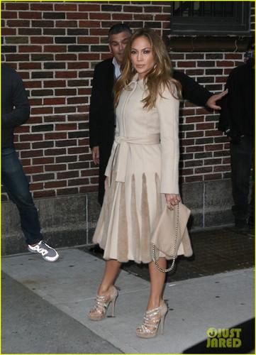 Jennifer Lopez Talks Marc Anthony Divorce on the 'Late Show'