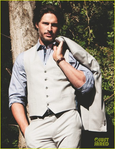 Joe Manganiello Covers 'Da Man' Magazine