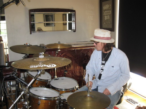 Johnny @ the Drum Doctors Studio (2011)