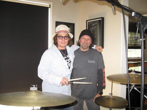Johnny @ the Drum Doctors Studio (2011)