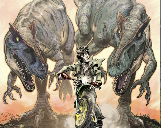 Jurassic Park Dangerous Games Allosaurus