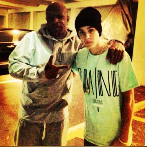 Justin og Birdman i LA
