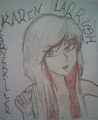 Karen larrush (cornerkiller) - emo-girls fan art