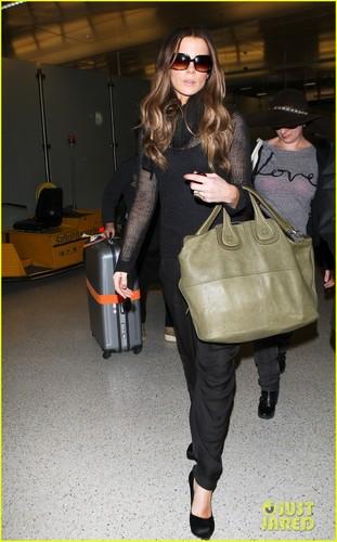 Kate Beckinsale: LAX Arrival
