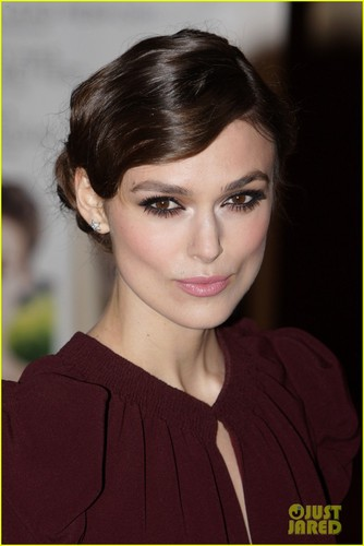 Keira Knightley wallpaper containing a portrait titled Keira Knightley: 'Dangerous Method' Gala Premiere!