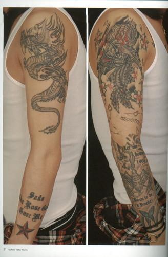 Kiyoharu's tattoo's