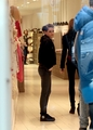 Kristen Stewart shopping in Paris - January 31, 2012.