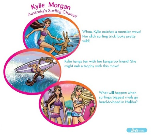 Kylie's Sea Shell book