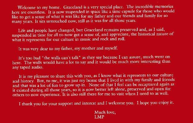 LMP about daddy & Graceland