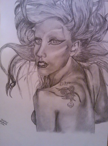 Lady Gaga- Born This Way drawing