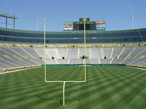 Brett Favre দেওয়ালপত্র entitled Lambeau Stadium & Field - Green Bay, Wisconsin