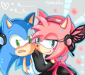 Like a magnet - sonic-and-amy photo