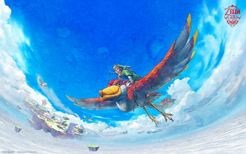 Link Flying on his loftwing