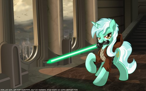 Lyra as a Jedi