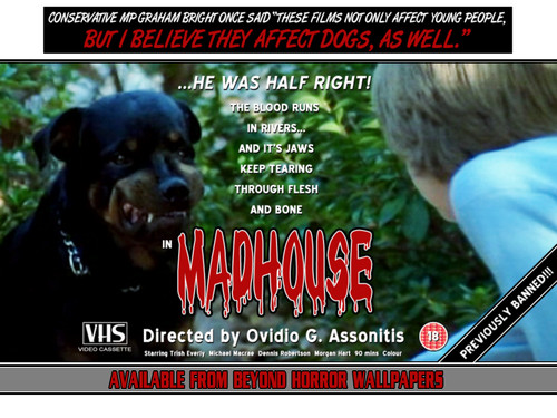 Madhouse - horror-movies Wallpaper