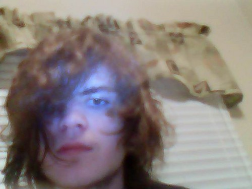 Me(a close up pic with the horrible webcam taken awhile back)