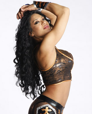 Melina Photoshoot Flashback