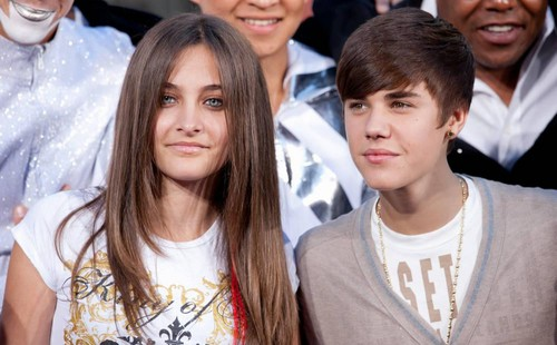HQ PIC Michael Jackson's Daughter Paris Jackson and Justin Bieber GORGEOUS PIC THEIR EYES <33