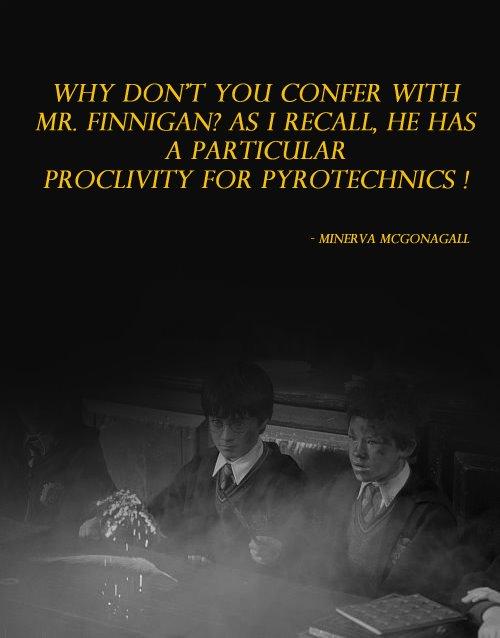 Professor Minerva Mcgonagall Quotes Mcgonagall Minerva Quote