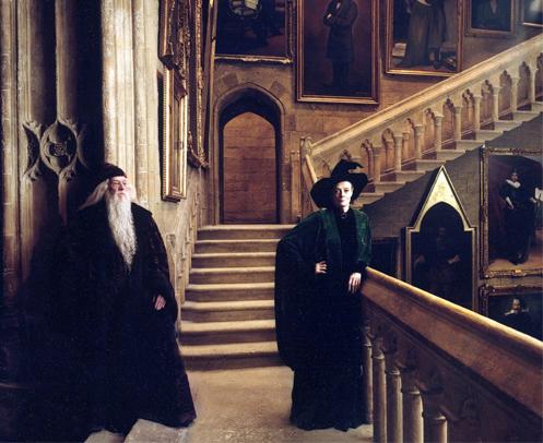 Minerva and Dumbledore