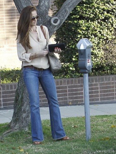 Minka Kelly At The Byron & Tracey Salon