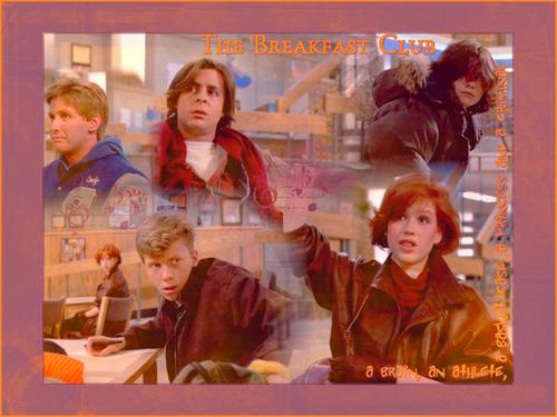 The Breakfast Club Appreciation wallpaper titled Movie art