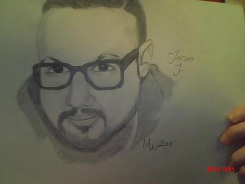 My Jaron Johnson art work