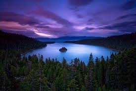 Mother Nature Hintergrund possibly with a lakeside, a sunset, and a riparian forest called Look Beyond What Du See