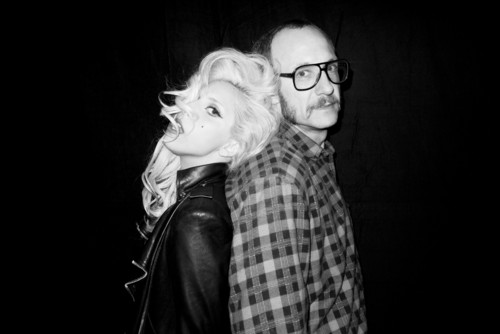 New Gaga foto da Terry Richardson