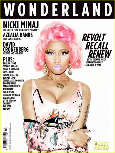 Nicki Minaj Covers 'Wonderland' February/March 2012
