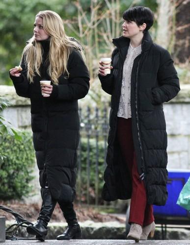 On Set - January 30, 2012