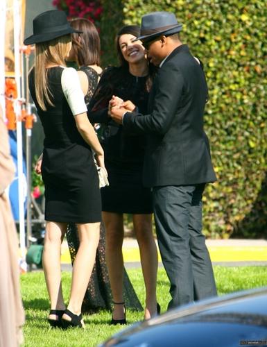 """On Set of """"90210″"""