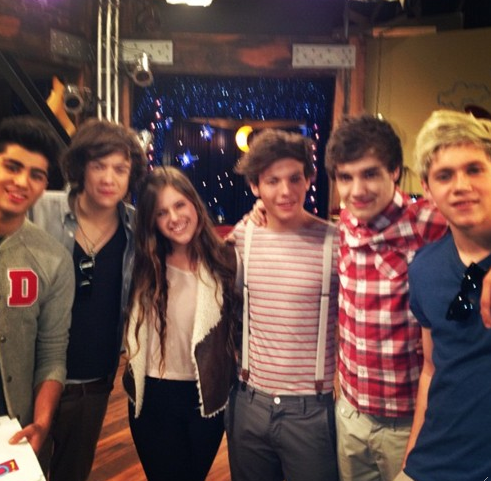One Direction in LA/with Fans ! :(