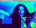 Paris Jackson on Video Chat