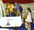 Pippa boarding private jet with Prince William - pippa-middleton photo