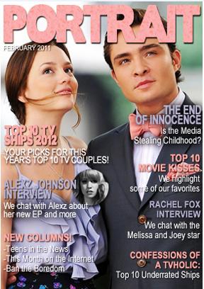 Portrait Magazines February Cover