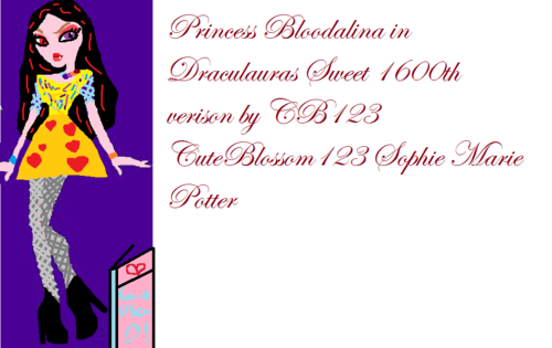 Princess Bloodalina Draculauras Sweet 1600th Verison