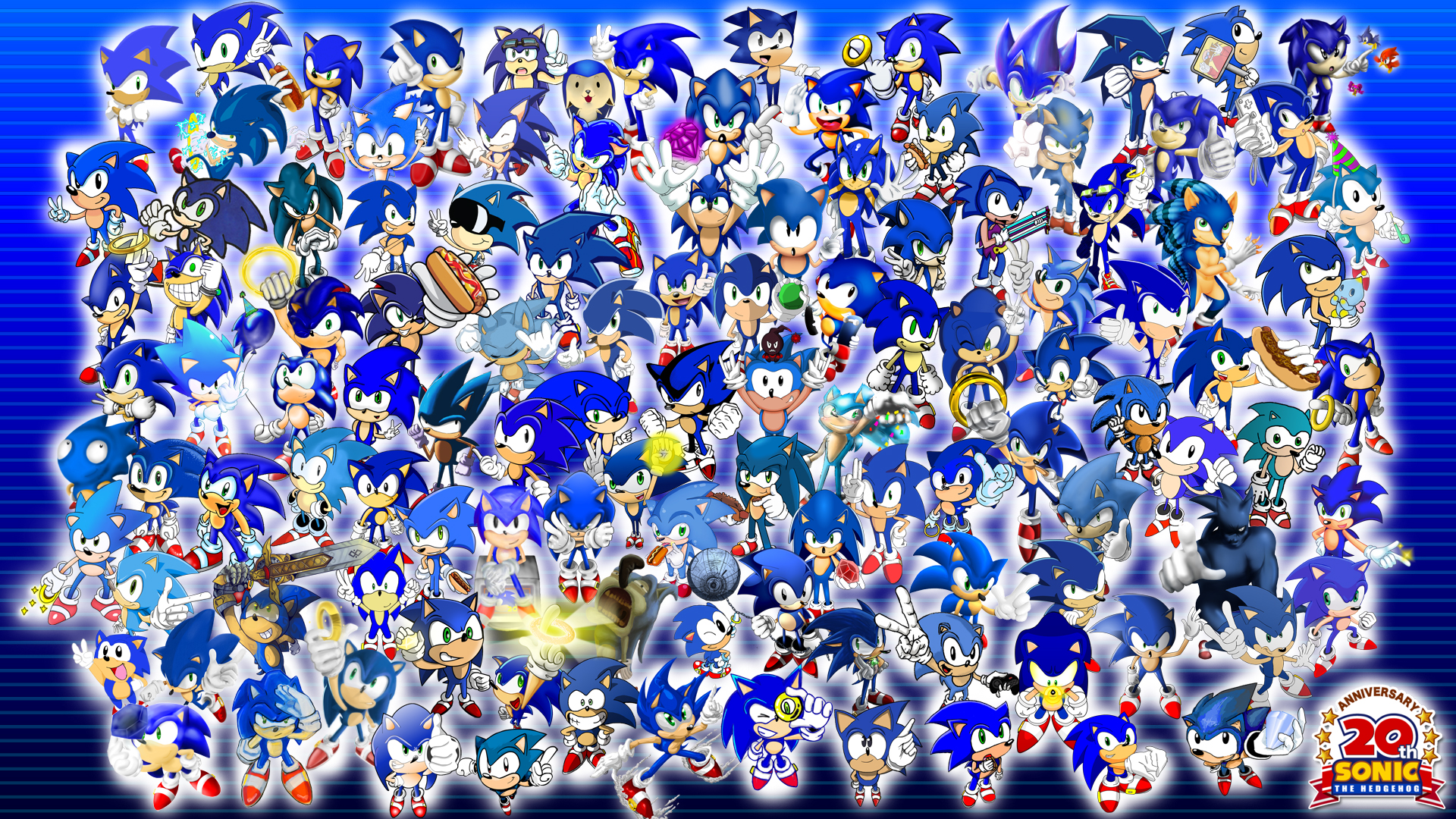 Project 20 Sonic Wallpaper Sonic The Hedgehog Wallpaper
