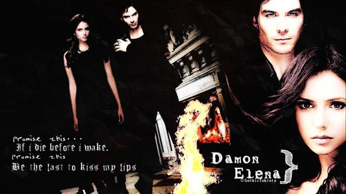 Promise This... - the-vampire-diaries-tv-show Wallpaper