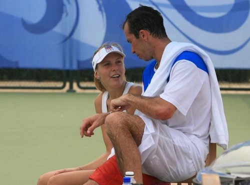Radek berkata : Nicole want come back playing on tennis..