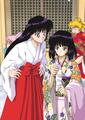 Rei, Usagi & Hotaru